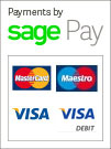 Secure payments by SagePay