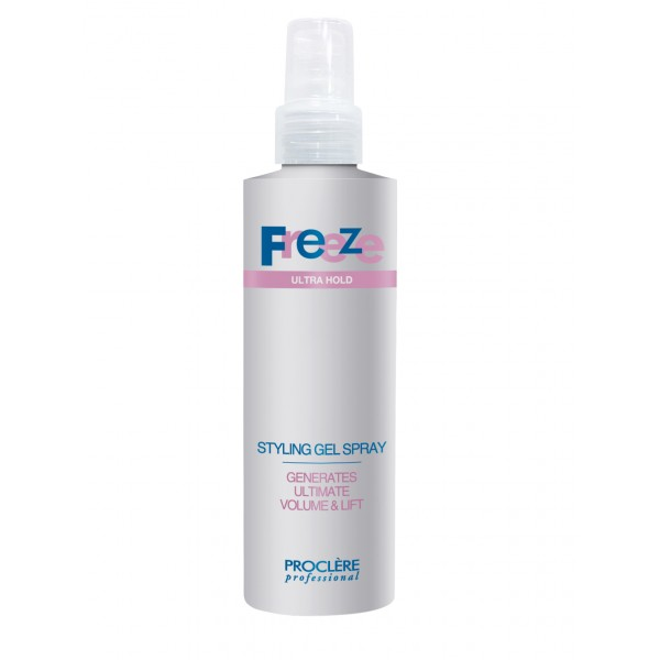 Freeze Hair Spray Gel 250ml Hair Styling Proclere