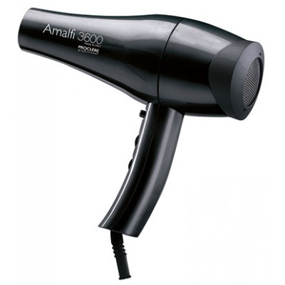 Amalfi 3600 Professional Salon Hair Dryer - Black - 6 Pack