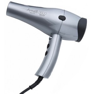 Amalfi 3600 Professional Salon Hair Dryer - Silver - 6 Pack